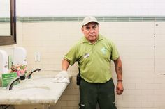 "Humans of New York: ""This is the cleanest bathroom in New York City.""  No job is unimportant enough that you shouldn't take personal pride in doing it the best that you can."