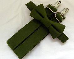 Green Suspenders, Suspenders For Boys, Wedding Suspenders, Groomsmen Accessories, Popular Wedding Colors, Green Bow Tie, Ring Bearer Outfit, Free Fabric Samples
