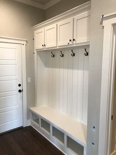 Drop Zone, Castle Rock, Mudroom, Entryway, Kitchen Cabinets, Furniture, Ideas, Home Decor, Entrance