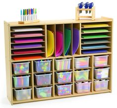 Angeles Multi-Section Tray Storage