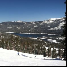 China Peak...great snow, great weather, great boarding. Lakeshore, CA (Shaver Lake)