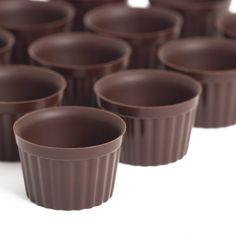 Belgian A la carte (mini) Chocolate Dessert Cups - 69.99 for 192 mini cups