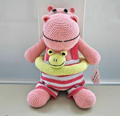 Hipopótamo rosa