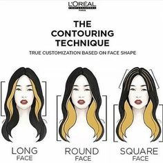 Face Contouring with Balayage? Yeah, It's a Thing - All For Hair Color Trending Hair Color Streaks, Hair Color Blue, Brown Hair Colors, Hair Highlights, Hair Streaks Blonde, Hair Color Ideas For Black Hair, Blonde Color, Blue Hair, Brown Blonde Hair