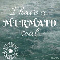 ♡ Either that or a vampire soul 🧜 Unicorns And Mermaids, Real Mermaids, Mermaids And Mermen, Mermaid Fairy, Mermaid Tale, Ocean Quotes, Beach Quotes, Humor Fotografia, Claudia Rodriguez