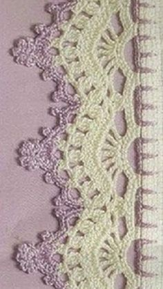 Watch This Video Beauteous Finished Make Crochet Look Like Knitting (the Waistcoat Stitch) Ideas. Amazing Make Crochet Look Like Knitting (the Waistcoat Stitch) Ideas. Crochet Boarders, Crochet Edging Patterns, Crochet Lace Edging, Crochet Motifs, Crochet Doilies, Filet Crochet, Tunisian Crochet, Crochet Crafts, Crochet Projects