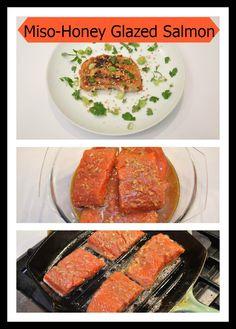 Miso-Honey Glazed Salmon