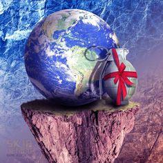 Save earth #sk18design #photoshop