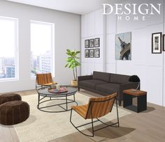 Contemporary living room design by tiffani valencia