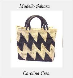 Modello Sahara  Juta Grezza www.carolinacrea.it
