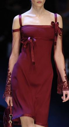 ♥ Valentino | Little burgundy dress | my favorite dress ever...:)