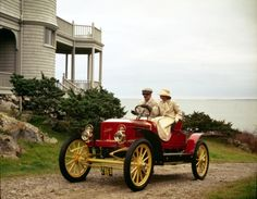 1909 Stanley Steamer.  My grandfather's family's first automobile.