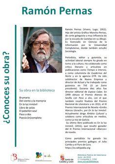 Ramón Pernas (Vivero, Lugo, 1952), escritor, novelista, guionista, periodista y crítico literario español.