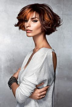 www.estetica.it   Credits Hair: Vog Coiffure Styling: Nikky Chicanot Make up: Alexandra Méric Photo: Anthony Meyer