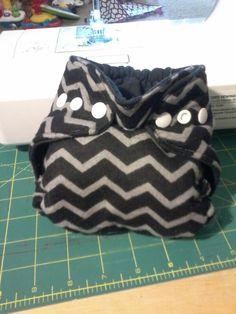 Newborn chevron print cloth diaper with umbilical snap https://www.facebook.com/erikawahm1?ref=bookmarks