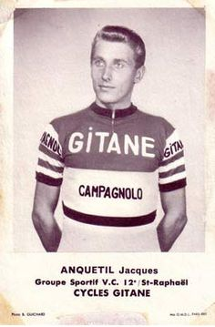 His records speak volumes - (he rode for Ford Gitane '61 to '64.)