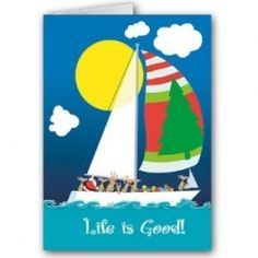 Boat at sail
