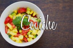 Ceviche – Day 16 – 30-Day Real Food Challenge: I love that this has a fancy name but is actually really easy to put together.