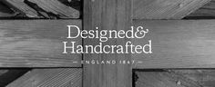 """The Kitchen Furniture Co """"Designed & Handcrafted"""" Logo"""