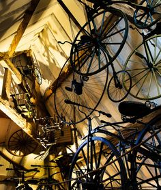 Abstract #photography  #bicycles