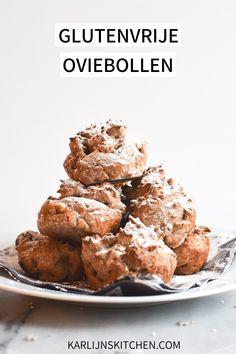 Glutenvrije oviebollen: oliebollen maar dan gemaakt in de oven! Super makkelijk én minder vet. Low FODMAP en lactosevrij. Met vegan optie #FODMAP #glutenvrij #lactosevrij #vegan #oliebollen #oviebollen #glutenvrijeoliebollen #glutenvrijeoviebollen Low Fodmap, Special Recipes, Cereal, Vet, Toast, Gluten Free, Snacks, Breakfast, Food Specials