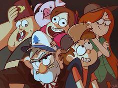 ŌkamiandFenrix: En Gravity Falls todos nosotros somos familia,no solo la sangre y el amor crean vínculos, ¿sabes? yo no hago estos dibujos, arte si me preguntan pero quisiera ponerlos porque tienen un gran significado para nosotros los que quisiéramos haber nacido en Gravity Falls. ------------------------------------------------- ŌkamiandFenrix: In Gravity Falls we are all family, not just the blood and love create links, you know? I do not do these drawings, art if you ask me but I would…