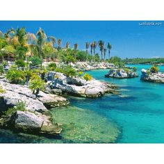 Cancun- Xal-ha. went snorkeling there once---absolutely gorgeous
