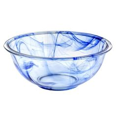 Pyrex Watercolor Collection Blue Lagoon 2.5-qt Mixing Bowl