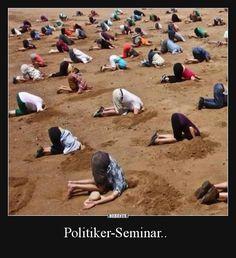 Politiker-Seminar..