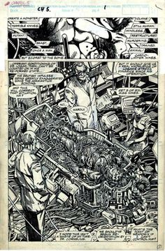 Barry Windsor Smith. The Weapon X.