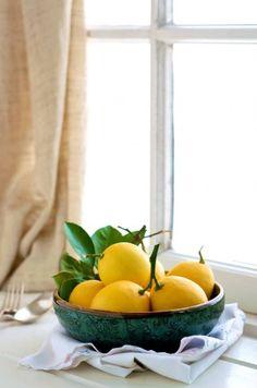Lemon Bowl.  #simplylemon #lemon #bowl #window