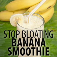 Dr Oz Jan-You-Ary Weight Loss: Bloat-Busting Banana Smoothie Recipe