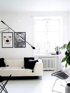 Whole apartment interior design for private client 2016 – Photographer Krista Keltanen – #flos #flos265 #theposterclub #bertoia #diamondchair