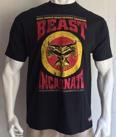 Beast Incarnate Men's XL Tshirt Black Brock Lesnar WWE Wrestling Champion Wear - http://bestsellerlist.co.uk/beast-incarnate-mens-xl-tshirt-black-brock-lesnar-wwe-wrestling-champion-wear/