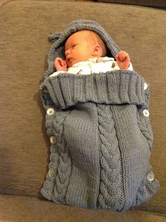 Phildar bebé Bunting