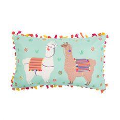 Ajoutez du fun à votre canapé Déco originale et colorée #coussin #cushion #lama
