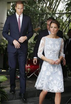 The Royal couple looked strained as they left the British High Commission in Kuala Lumpur. Both Kate and William are said to be furious about the publication of the pictures taken with a long lens while they were on holiday in France Duchess Kate, Duke And Duchess, Duchess Of Cambridge, Princess Charlotte, Princess Diana, Princesse Kate Middleton, Prince William And Catherine, William Kate, Princesa Kate