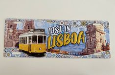 LISBOA • License Plate Cities LISBON PORTUGAL | Metal Sign Vintage Decor (new) #Unbranded #VintageRetro Etsy Vintage, Vintage Decor, Lisbon Tourism, Travel Stamp, Vintage Metal Signs, Vinyl Wall Art, Plate, Decoration, Neon Signs