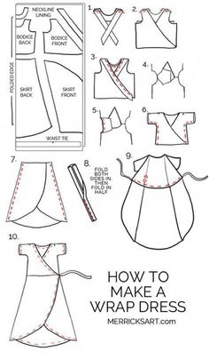 If you love sewing, then chances are you have a few fabric scraps left over. You aren't going to always have the perfect amount of fabric for a project, after all. If you've often wondered what to do with all those loose fabric scraps, we've … Dress Sewing Tutorials, Sewing Hacks, Sewing Tips, Tutorial Sewing, Sewing Basics, Merricks Art, Sew Ins, Leftover Fabric, Love Sewing
