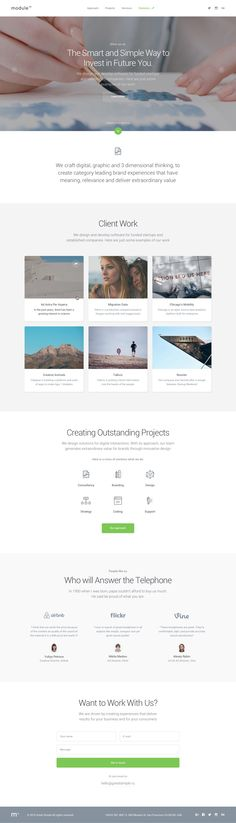 Module 02: Layouts on Behance