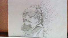 Dibujo hecho por Julian Andrés Diaz Restrepo.