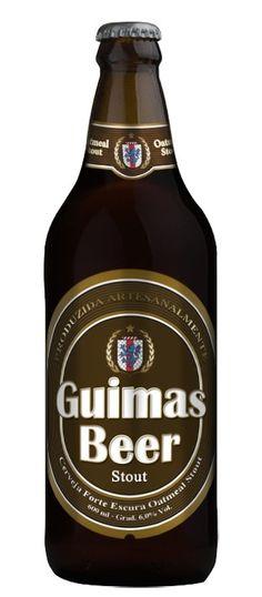 Cerveja Guimas Beer Stout, estilo Oatmeal Stout, produzida por Guimas Beer, Brasil. 6% ABV de álcool.