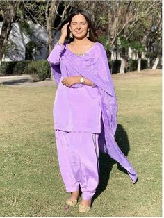 Indian Long Dress, Punjabi Models, Punjabi Fashion, Patiala Salwar, Tailored Suits, Bvlgari Bags, Dress Making, Perfect Fit, Chiffon