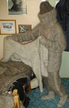 mohair-10 multilayered woolen zentai