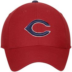 4478fbc404755 Cleveland Indians American Needle Cooperstown Fitted Hat - Scarlet