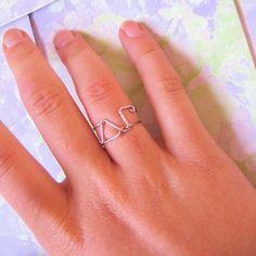 sorority rings :)   http://www.pinterest.com/SratStylista/ Delta Phi Epsilon, Alpha Omicron Pi, Kappa Kappa Gamma, Alpha Xi Delta, Alpha Chi Omega, Kappa Delta, Phi Mu, Sorority Fashion, Sorority Letters