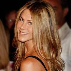 Blonde Caramel Hair Jennifer Aniston Hair color.