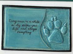 Inspirational Dog Tile