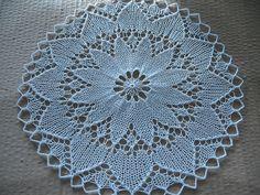 Knit Doily by turvid, via Flickr
