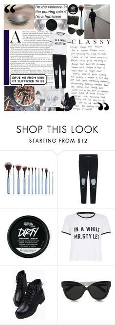 """""""&&;talking about my time on polyvore"""" by stxrry-skies ❤ liked on Polyvore featuring Sigma, River Island, Linda Farrow, NARS Cosmetics and xsashasmagazinesetsx"""